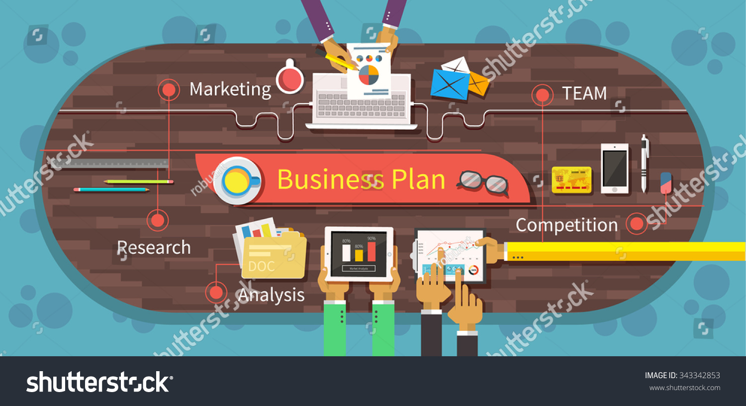 business market Describing management and marketing aspects of the business section two • unsubstantiated assumptions can hurt a business plan the business owner.