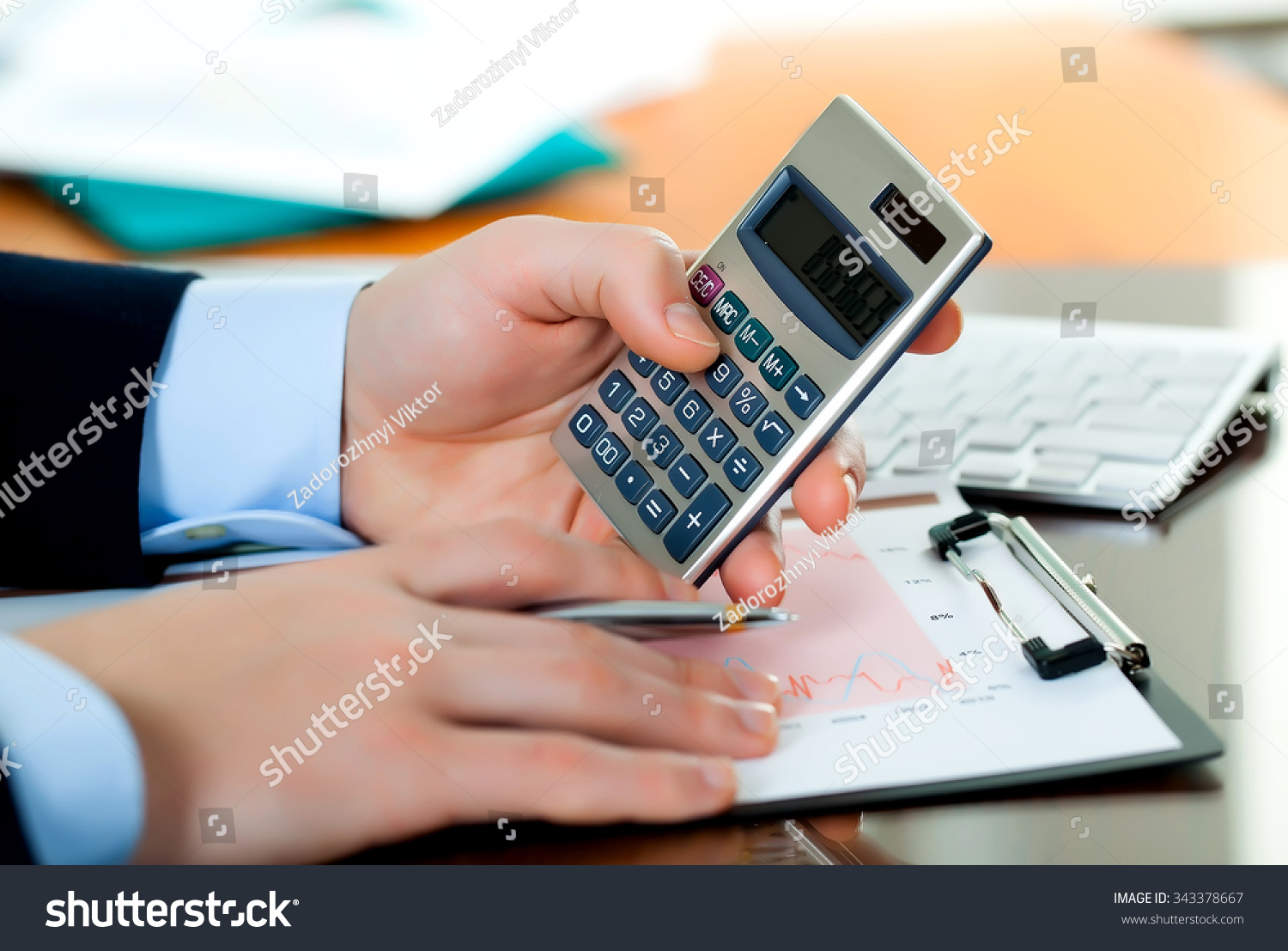 Business Accounting Stock Foto 343378667 - Shutterstock