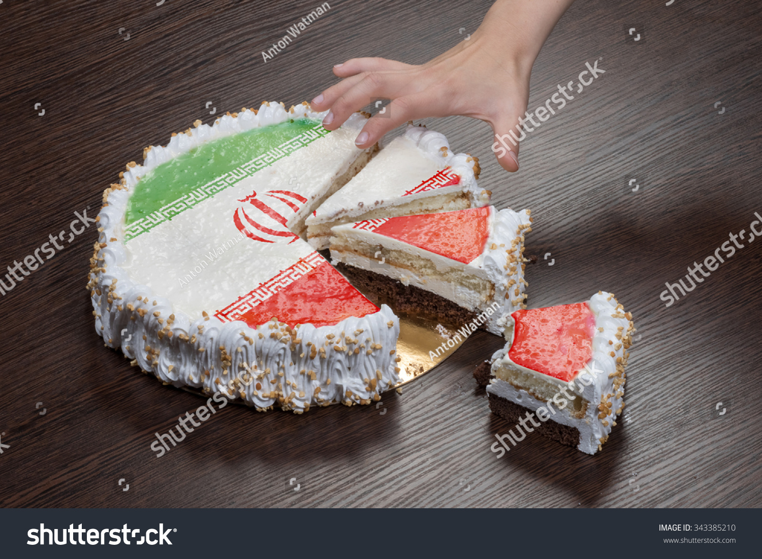 Symbol war separatism cake picture flag stock photo 343385210 the symbol of war and separatism a cake with a picture of the flag of buycottarizona Choice Image