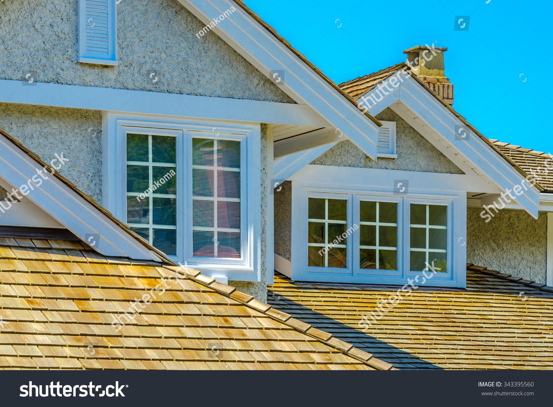Nice Looking House Window Stock Photo 343395560