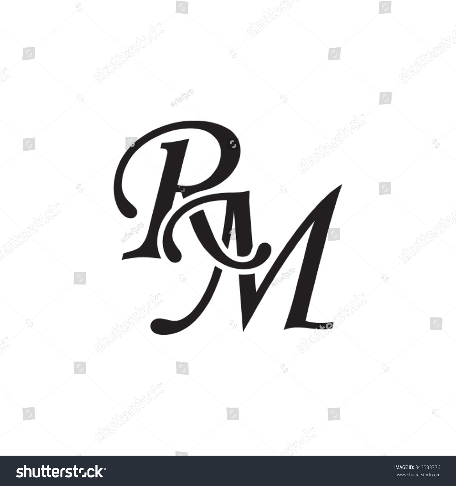how to monogram initials order