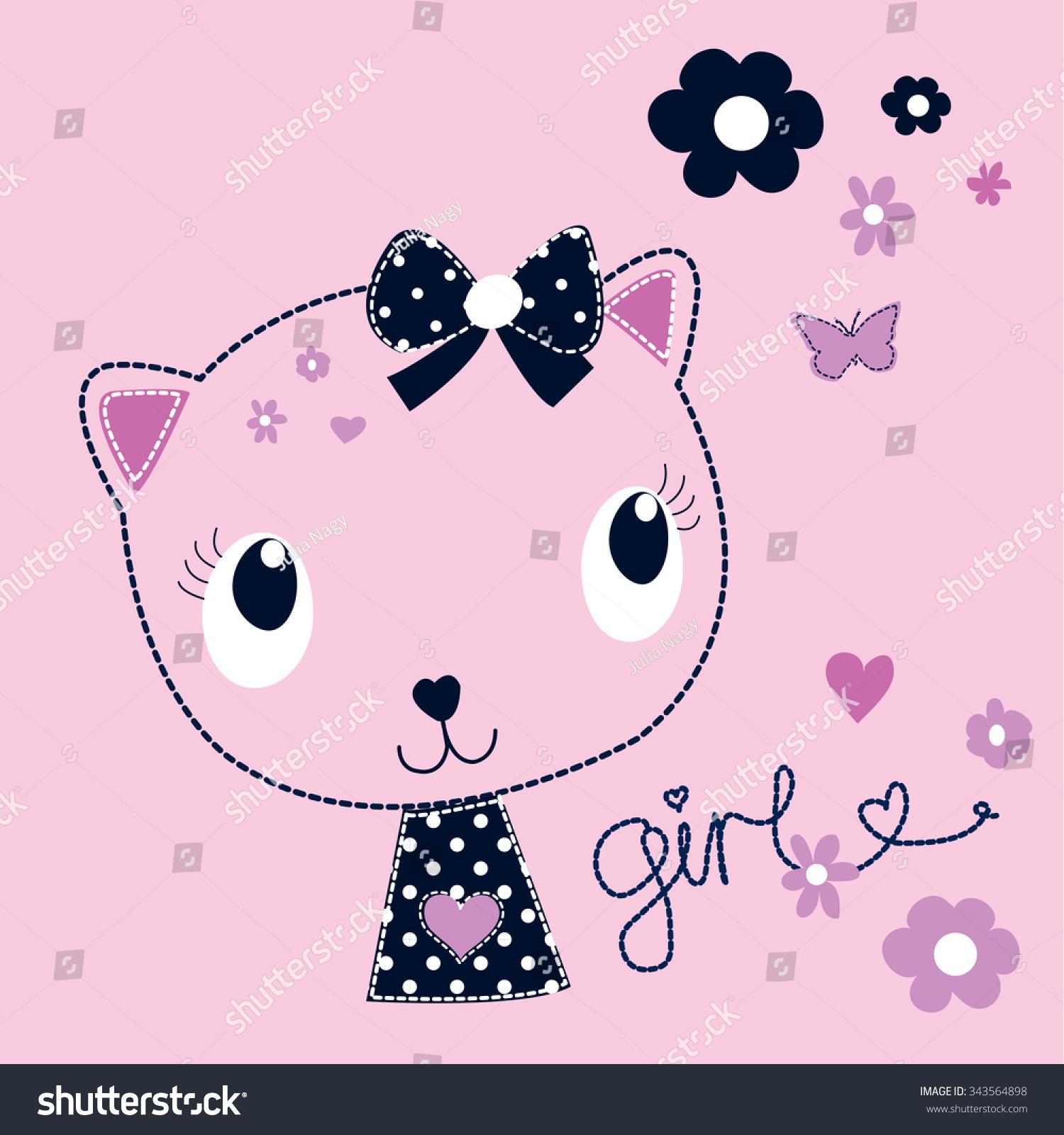 1.47] <b>Cute Cat Girl</b> Style Diamond Retro Alloy Long Chain Necklaces ...