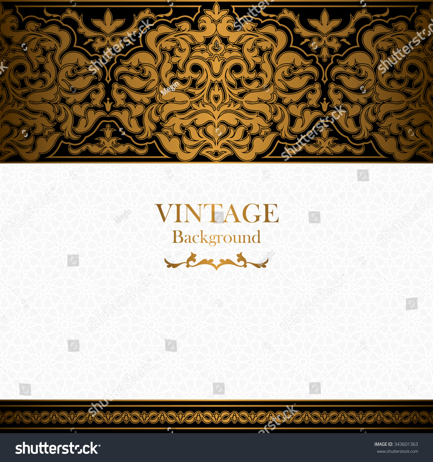 Quran Book Cover Template : Royalty free vintage background islamic style…
