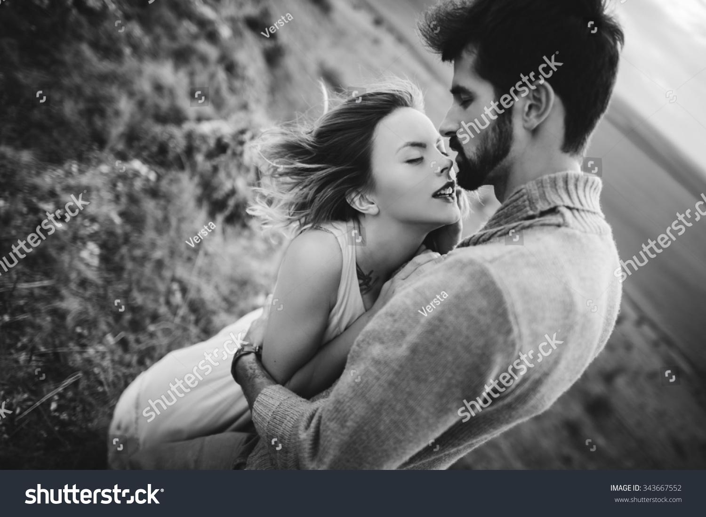 Passionate couple in this seductive scene 3