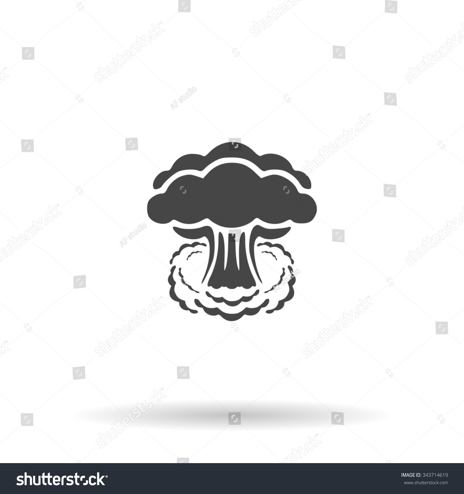 Mushroom Cloud Silhouette | www.imgkid.com - The Image Kid Has It!