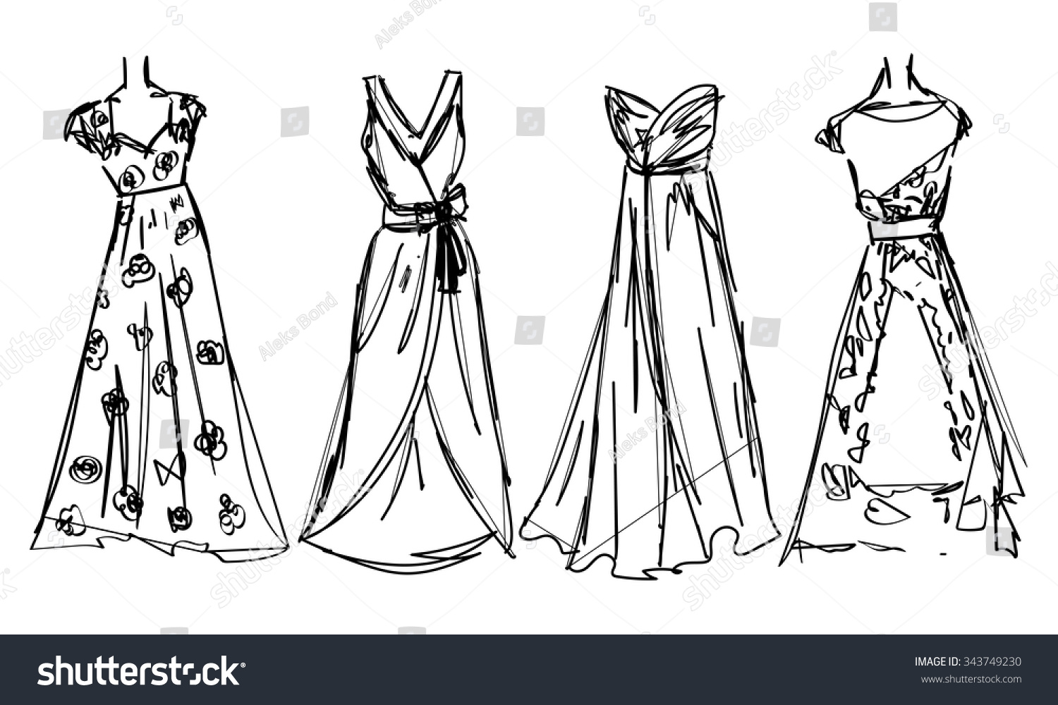 Simple How To Draw  PAKISTANI DRESS