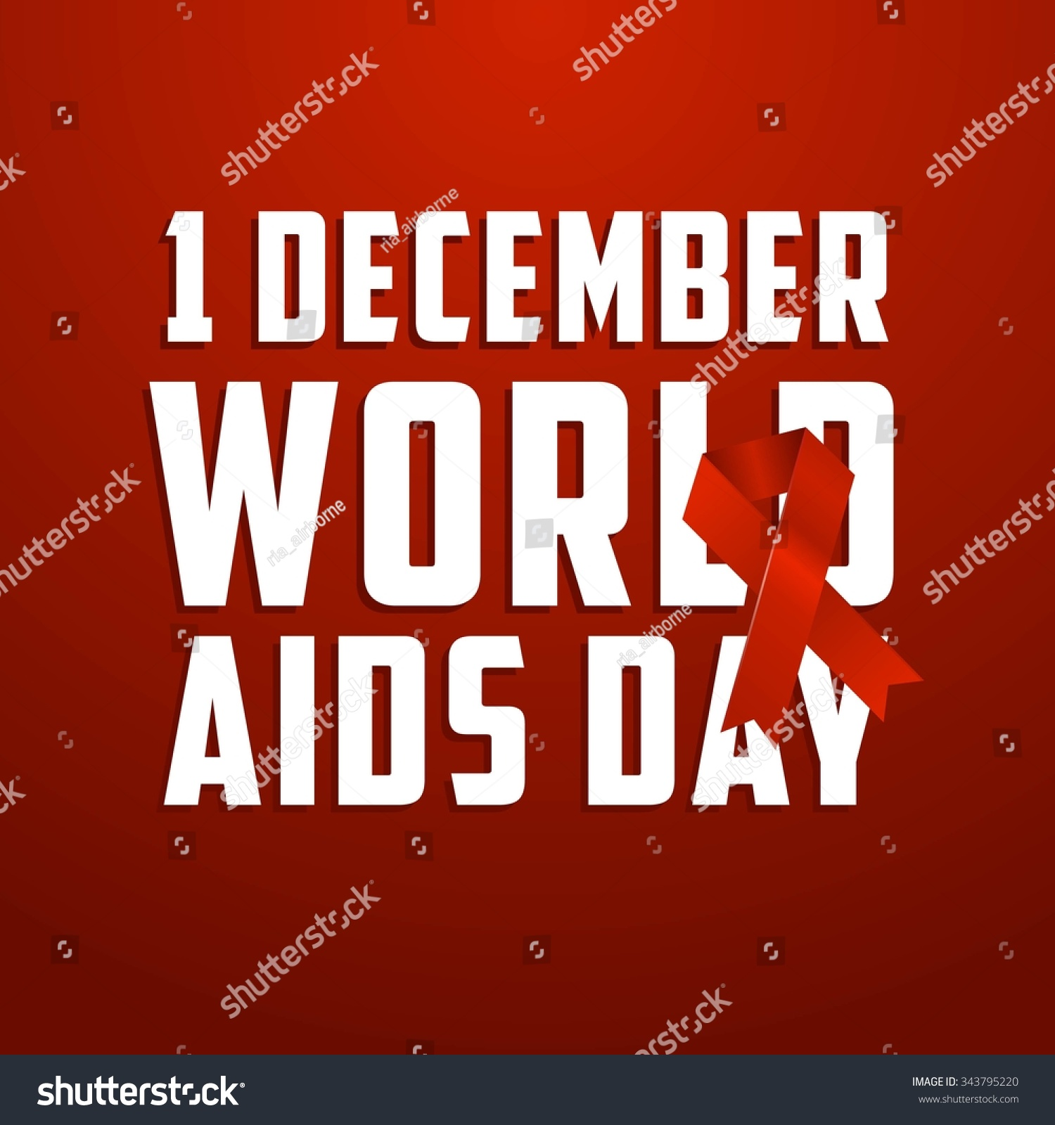 Inspirational Message Of The Day World Aids Day Poster Quotes Inspirational Stock Vector 343795220
