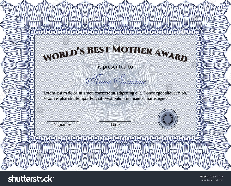 award cards templates