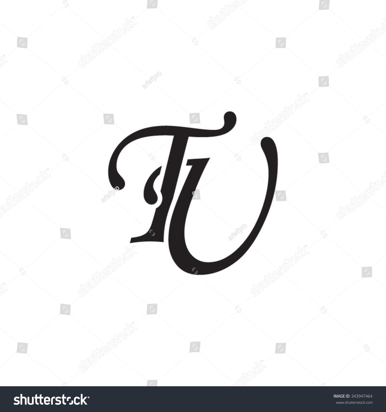 Tj initial luxury ornament monogram logo stock vector - Tu Initial Monogram Logo Stock Vector Illustration 343947464 Shutterstock
