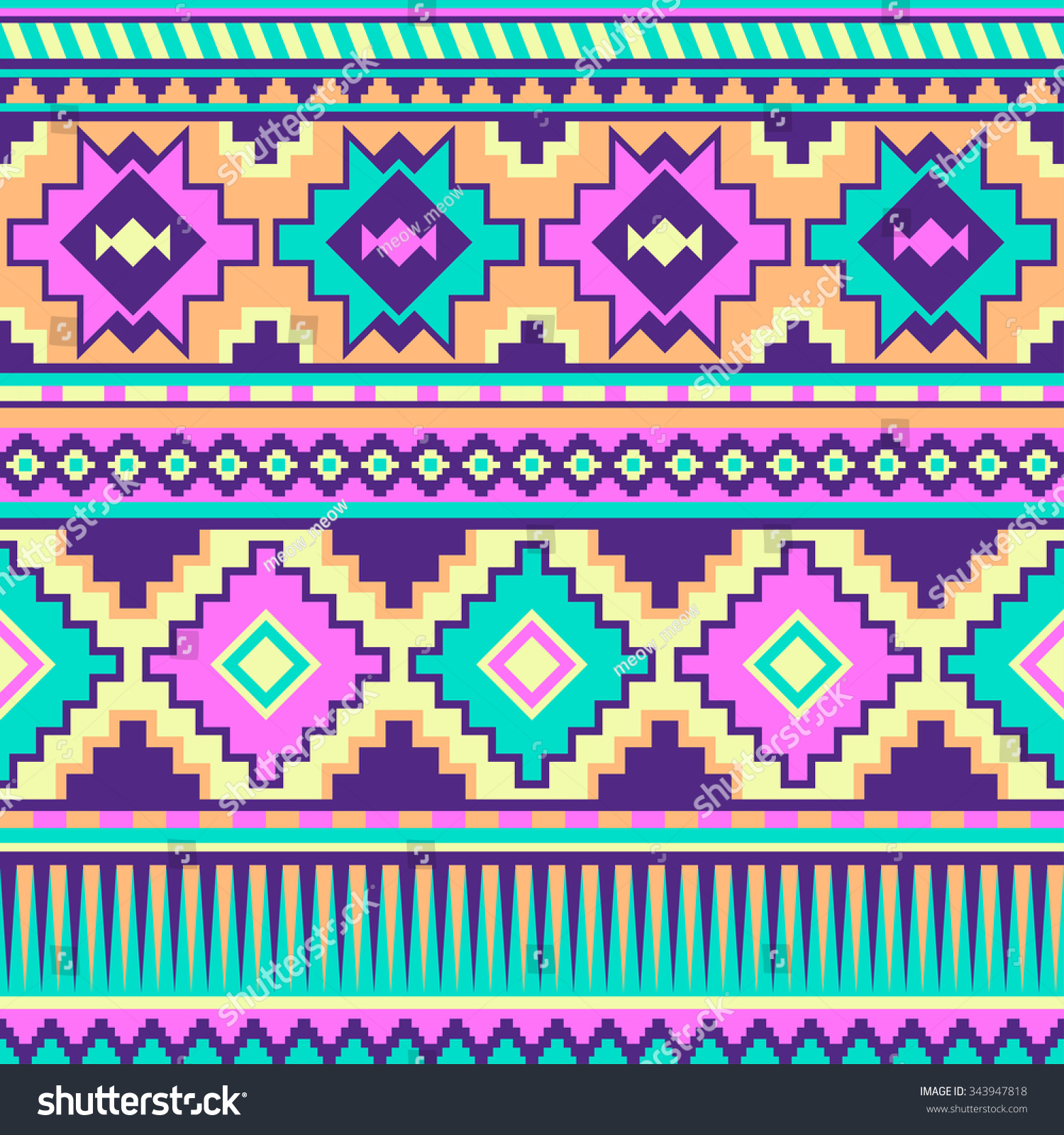 purple aztec print wallpaper wwwimgkidcom the image