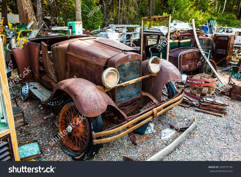 Kalispell August 2 Old Cars Trucks Stock Photo 343975136 - Shutterstock
