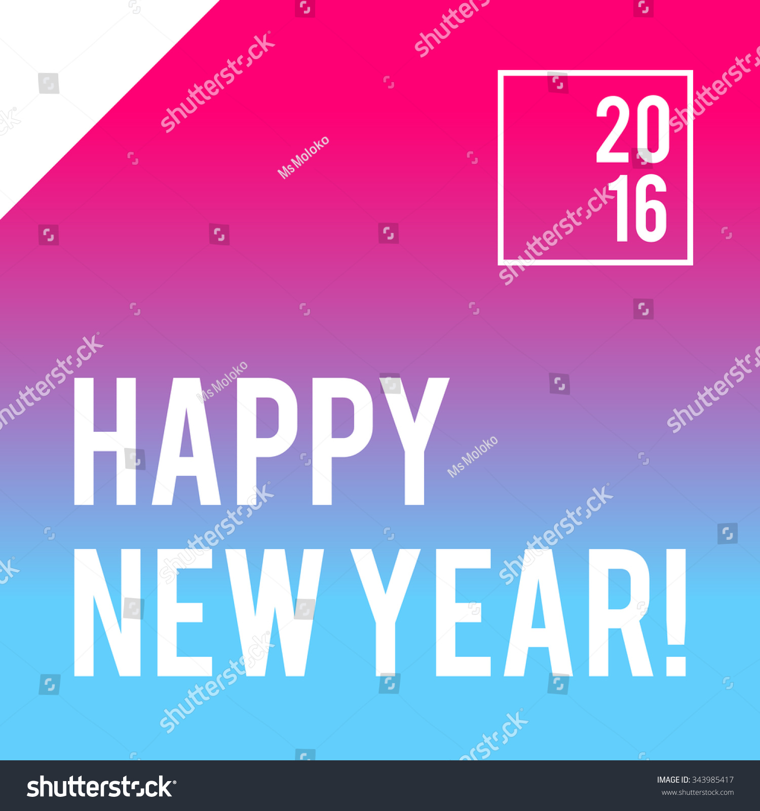 Neon bright new year design banner stock vector 343985417 shutterstock neon bright new year design for banner or party invitation vector illustration stopboris Choice Image