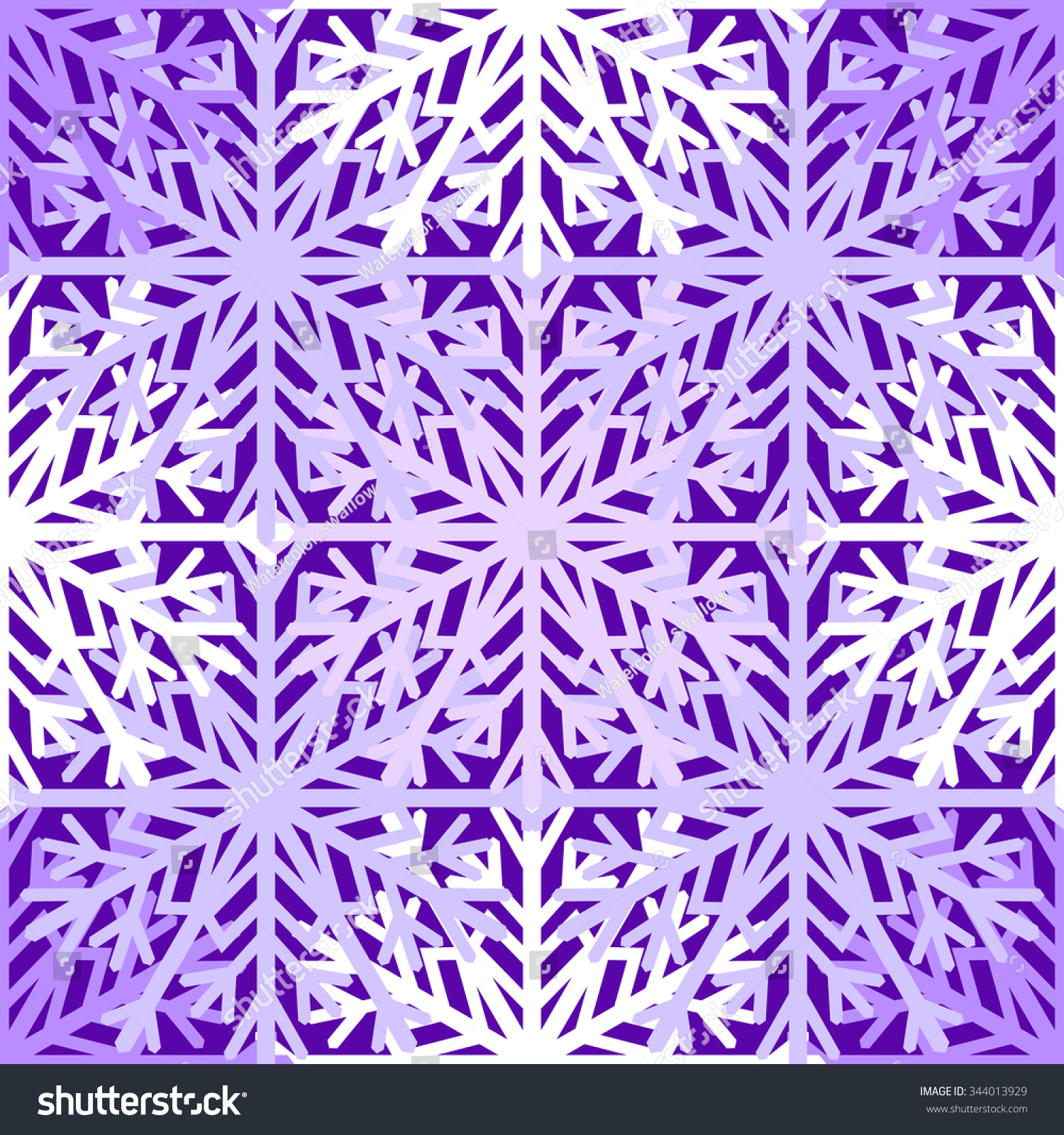 Scrapbook paper designs to print - Seamless Pattern With Hand Drawn Snowflake Template For Wrapping Scrapbook Paper Textile Print