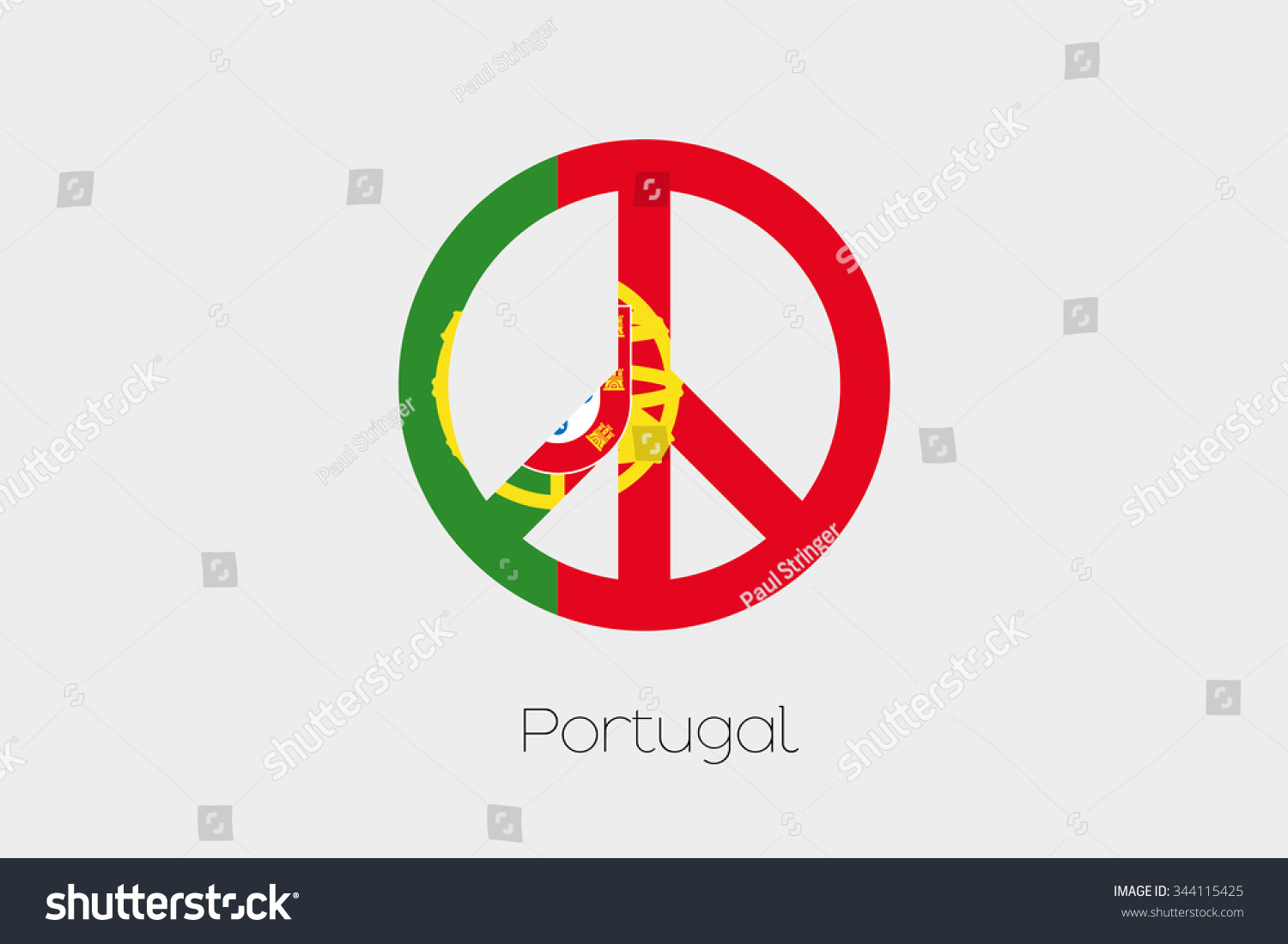 Peace symbol flag portugal stock illustration 344115425 shutterstock a peace symbol with the flag of portugal biocorpaavc