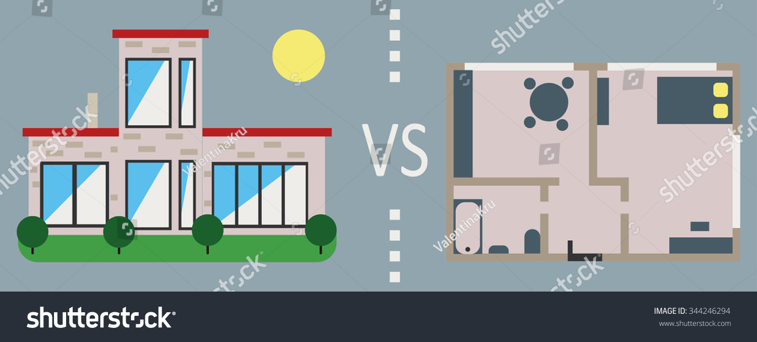 apartments vs houses There are two kinds of people: those who prefer living in an apartment and those  who love living in a house so which option is better there's.