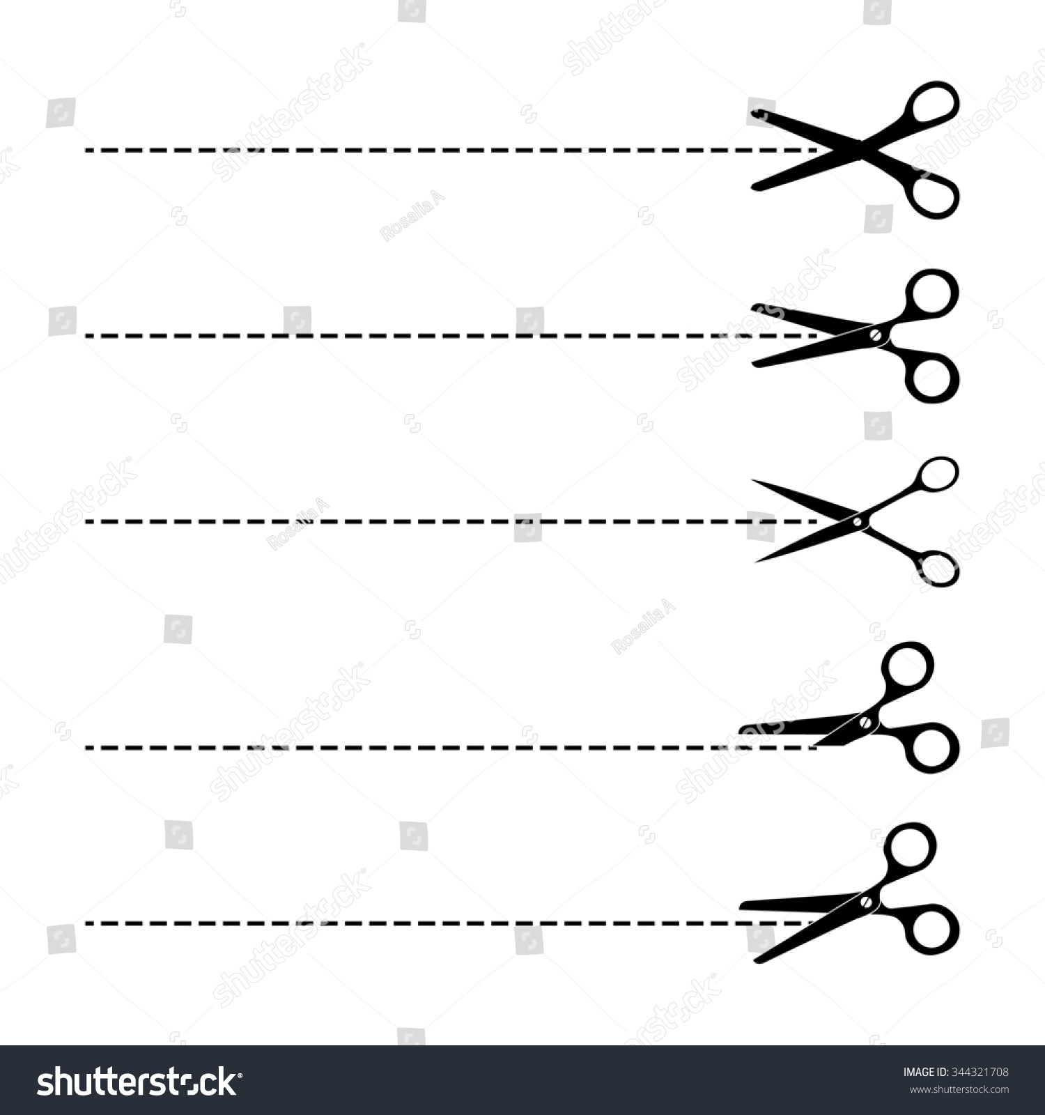 Scissors icon cut here symbol scissors stock illustration the scissors icon cut here symbol scissors and dotted line cut here scissors biocorpaavc