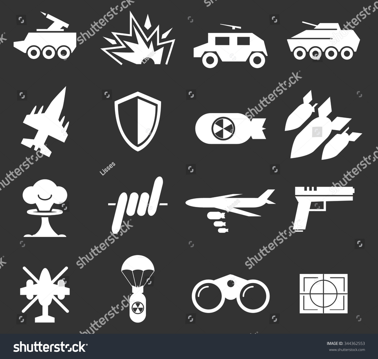 War symbol web icons stock vector 344362553 shutterstock war symbol for web icons biocorpaavc Images