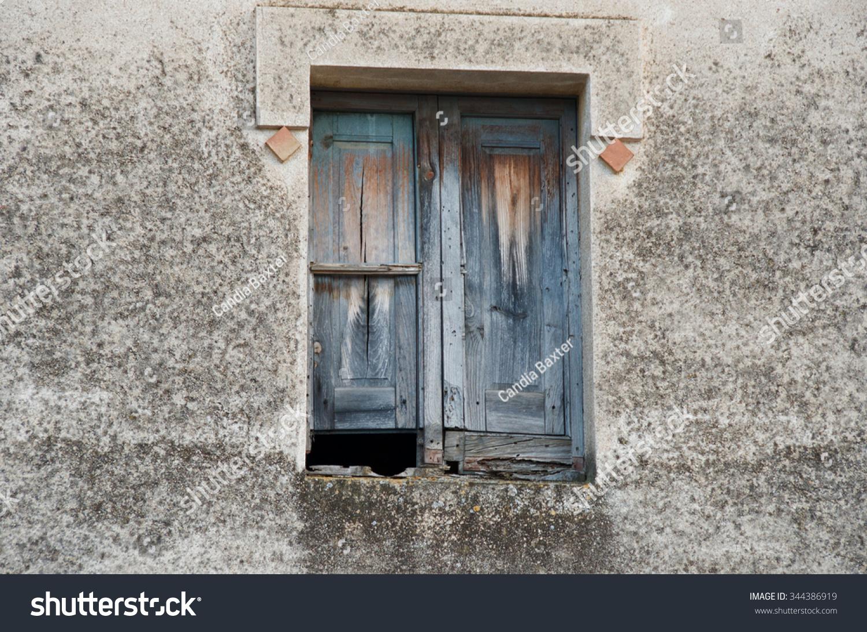 Antique Window Shutters Peralada Spain Buildings Landmarks