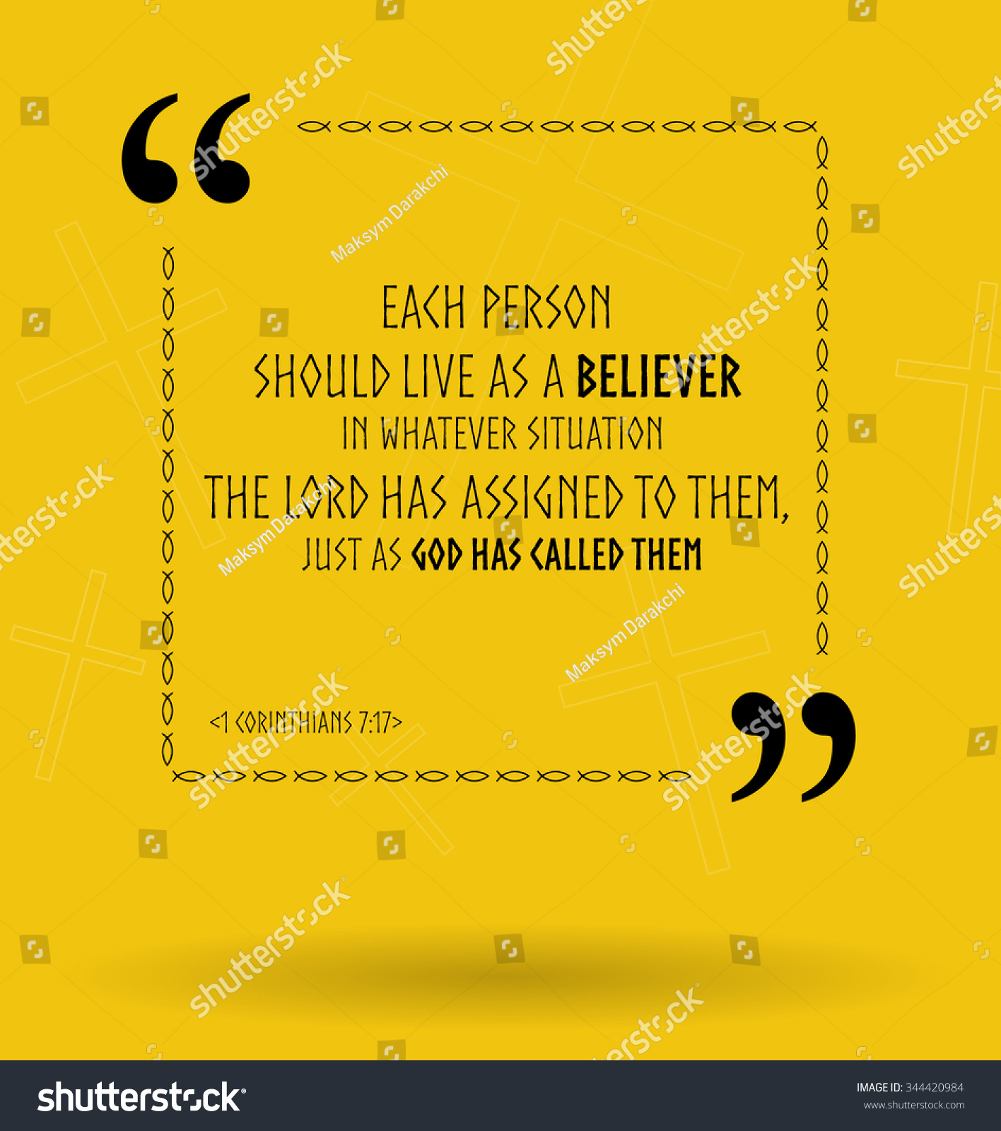 Bible Life Quotes Best Vector Bible Quotes About Life Stock Vector 344420984