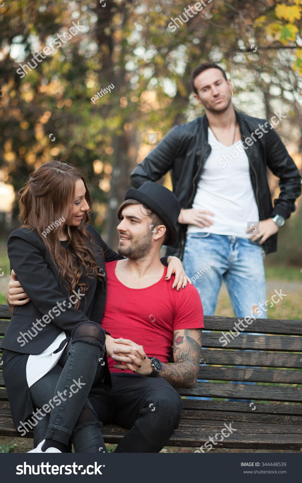 Girl cheating on boyfriend