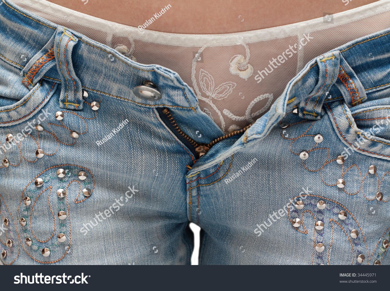 Фото снятые джинсы 4 фотография