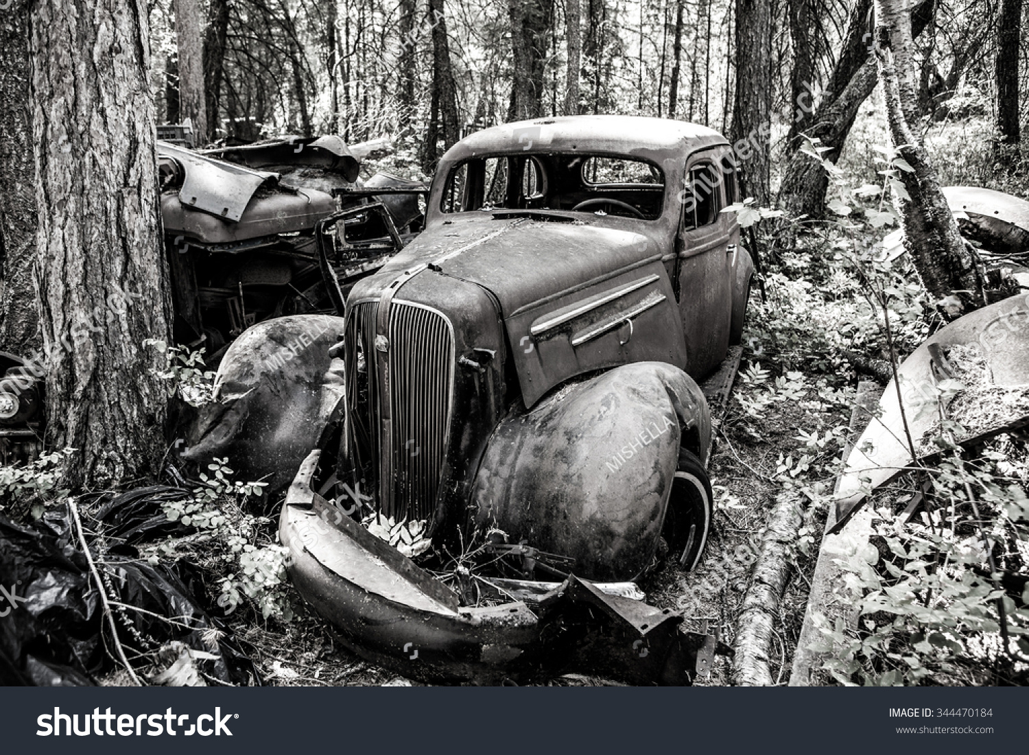 Kalispell August 2 Old Cars Trucks Stock Photo (Royalty Free ...