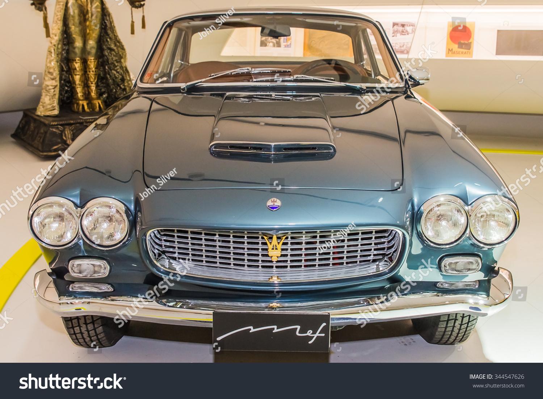 Modena Italy April 2015 Museum Enzo Ferrari Modena Maserati