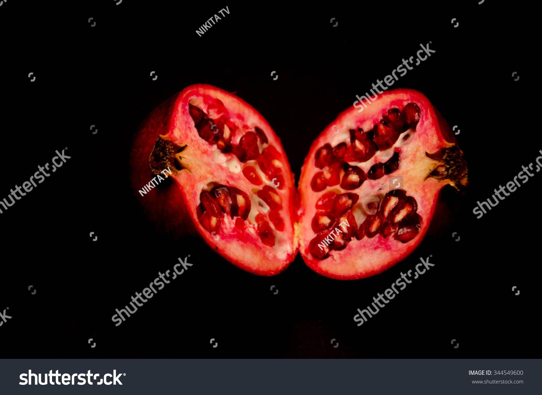 Pomegranate Apple Stock Photo 344549600 - Shutterstock