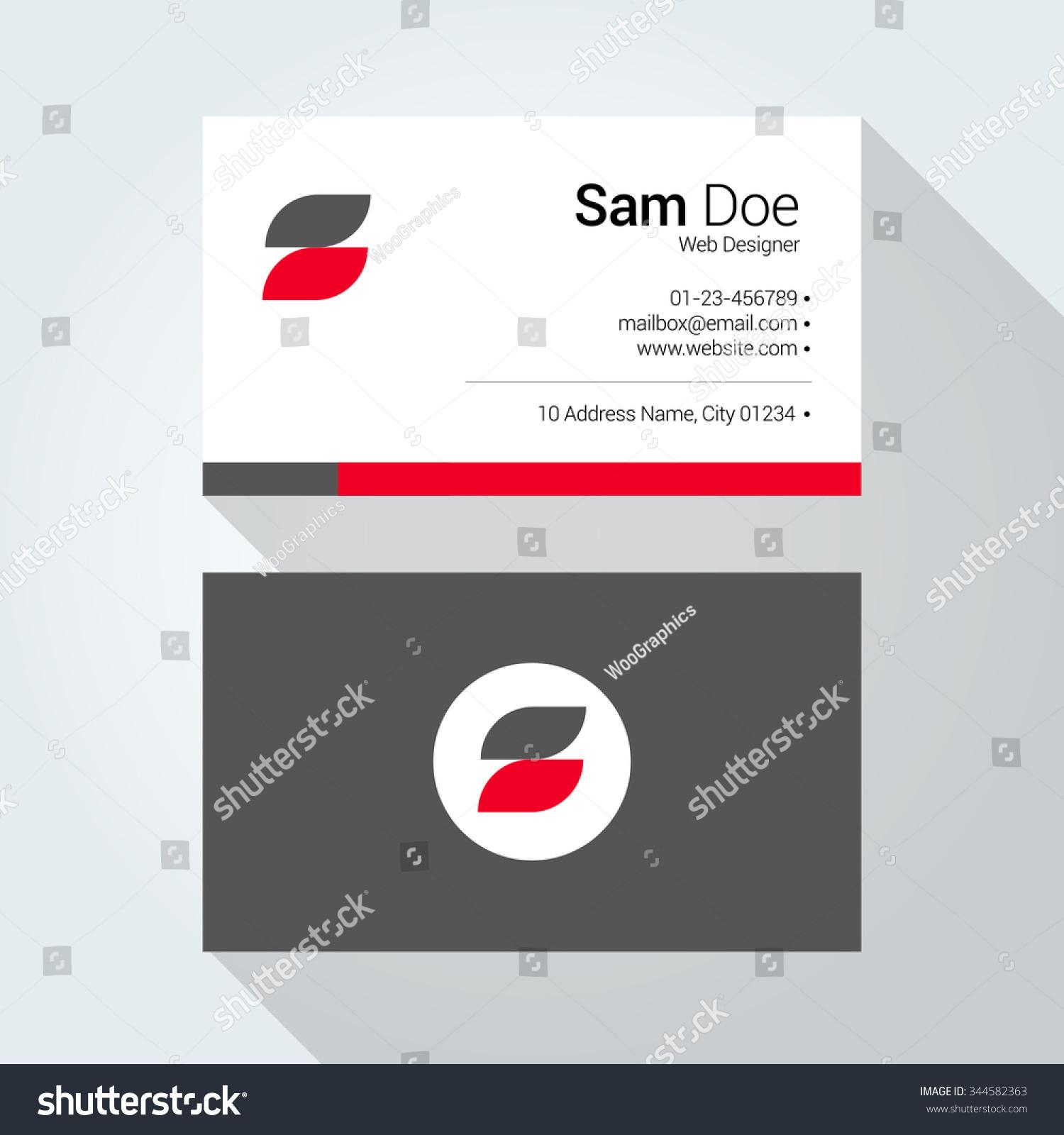 S Letter Typographic Alphabet Logo Corporate Stock Photo (Photo ...