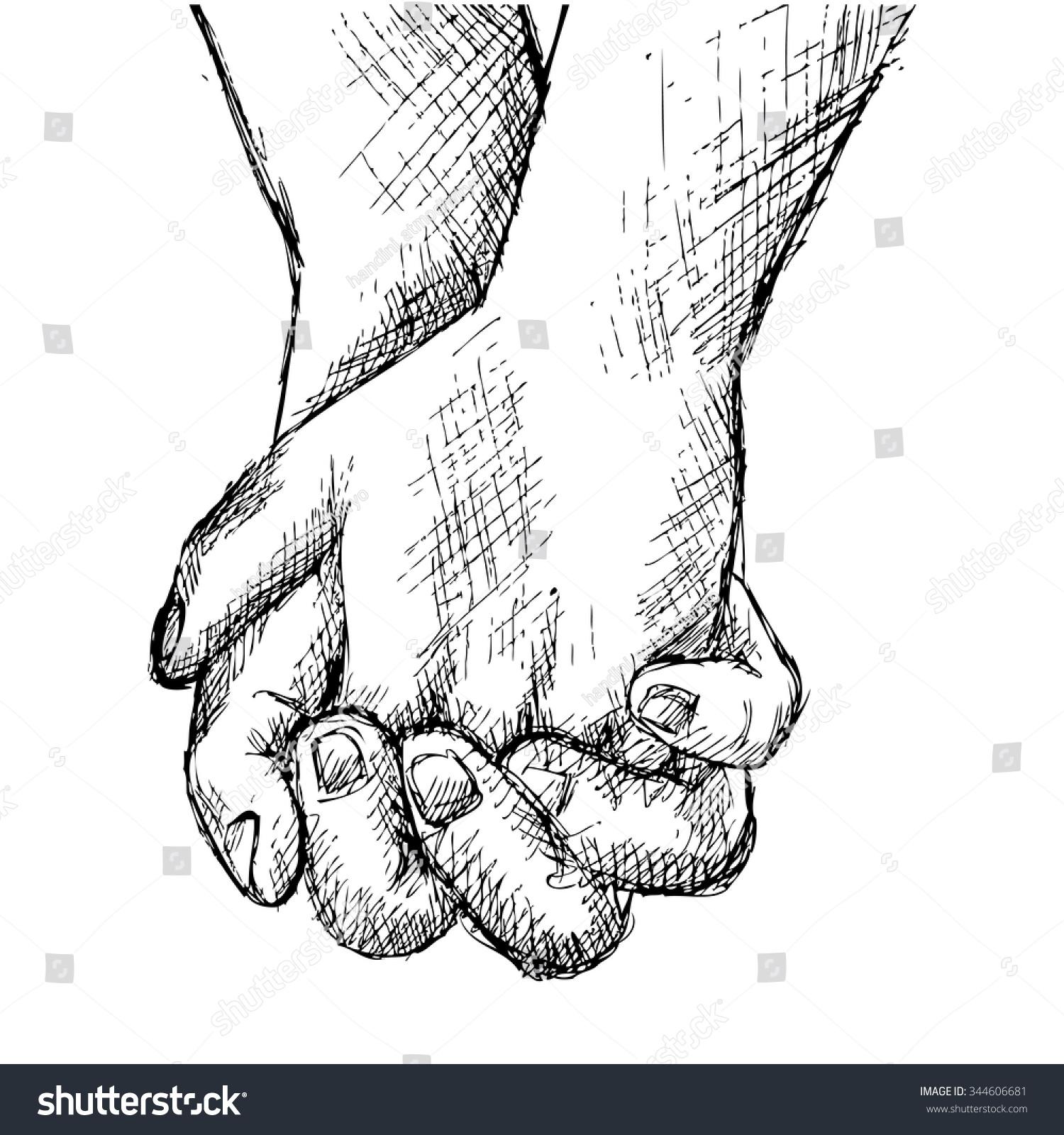 Uncategorized Holding Hands Sketch hand sketch holding hands stock vector 344606681 shutterstock hands