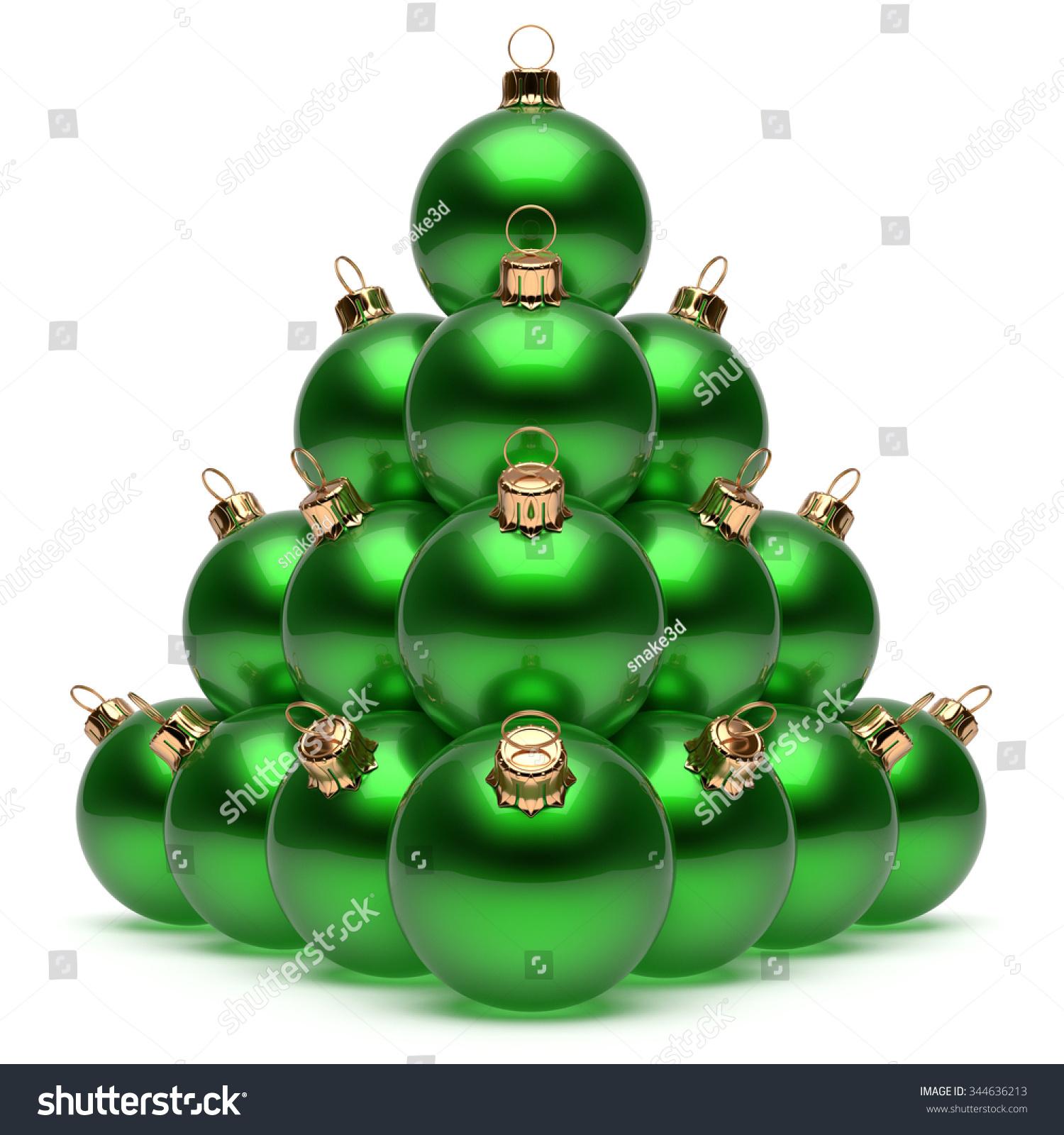 Pyramid christmas ornament - Save To A Lightbox