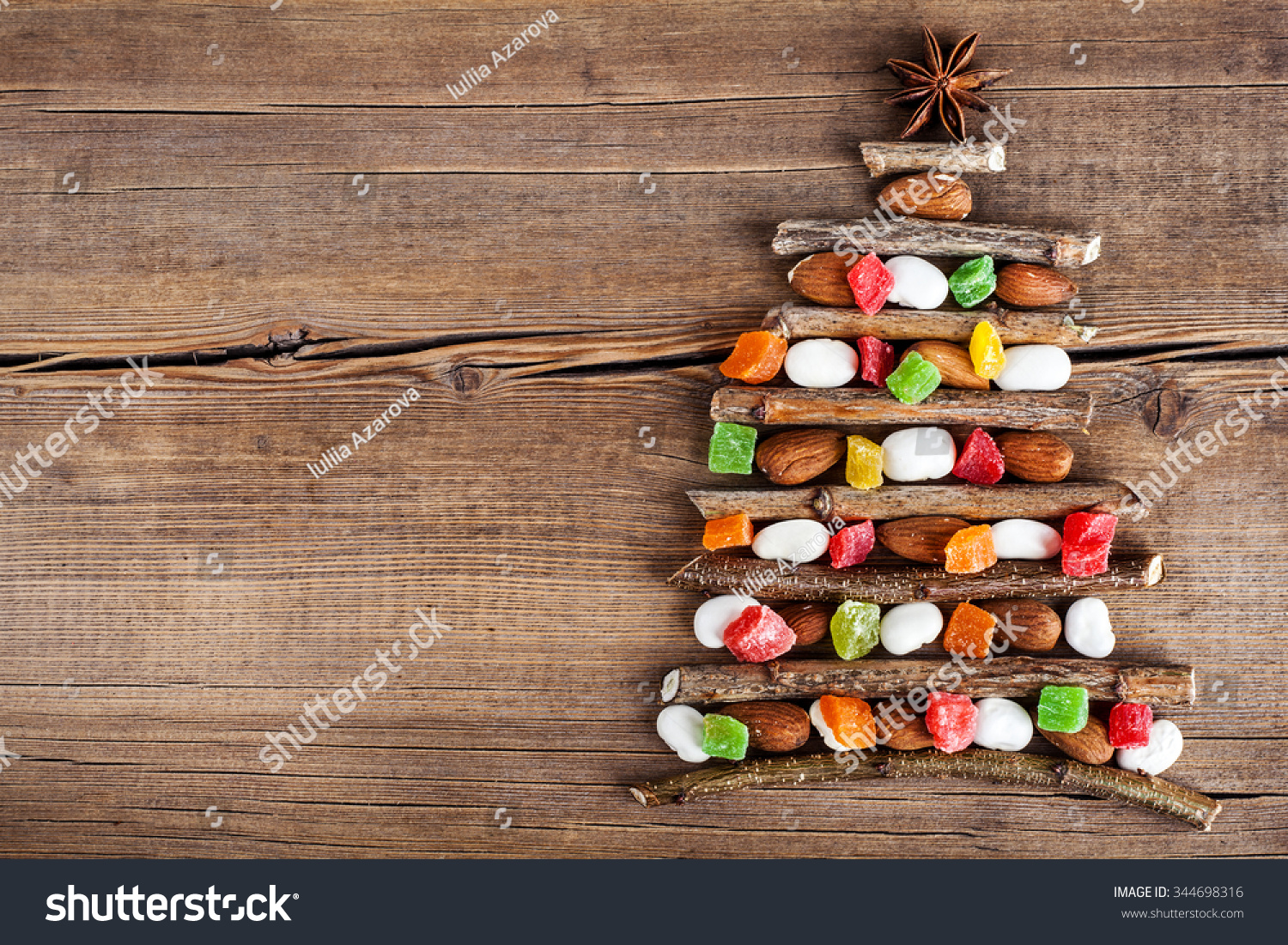 Amazing Wallpaper Christmas Wood - stock-photo-christmas-card-with-natural-decorations-on-wooden-background-set-of-different-varieties-of-objects-344698316  Graphic_515443 .jpg