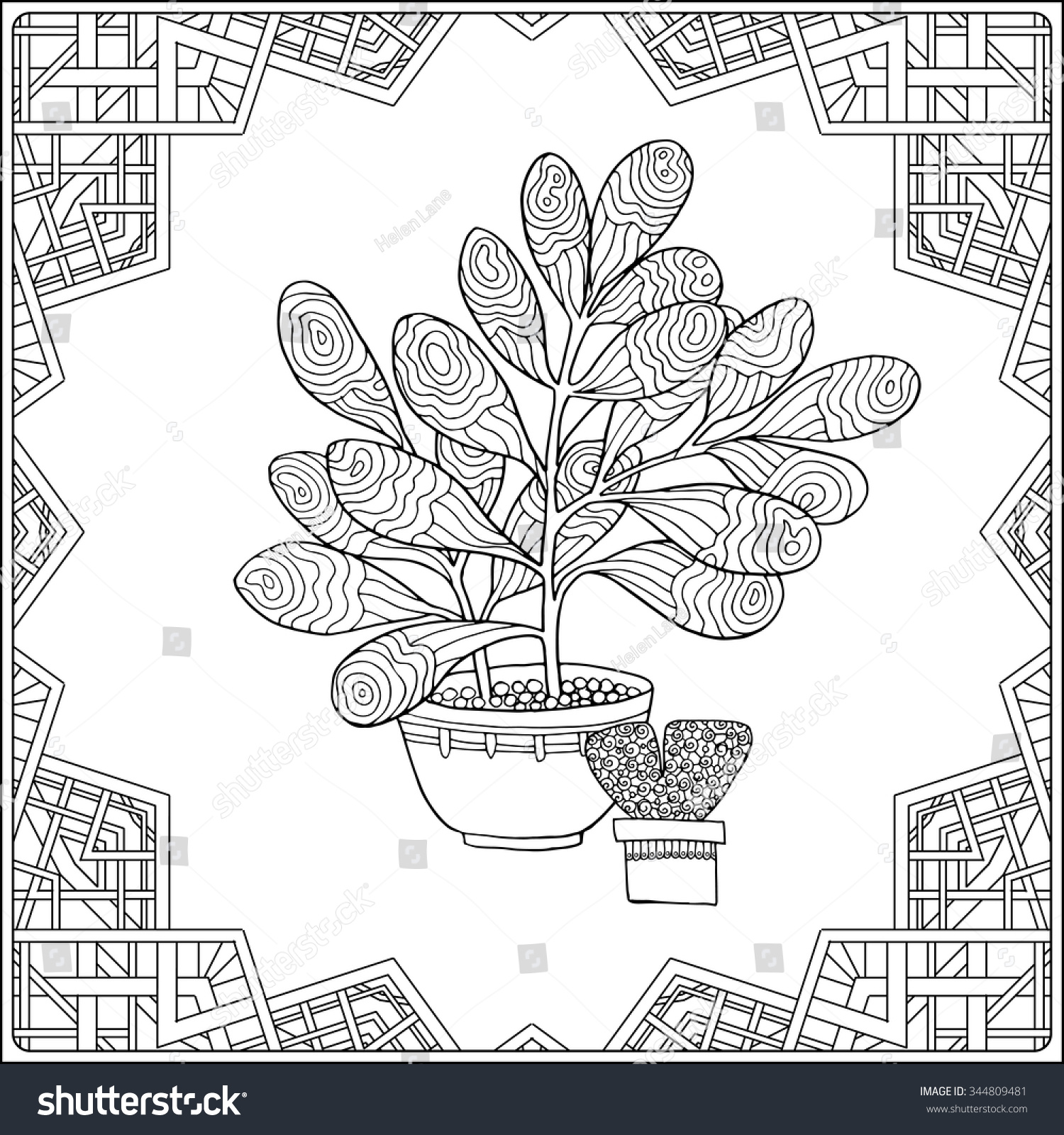 coloring book older children coloring stock vector 344809481
