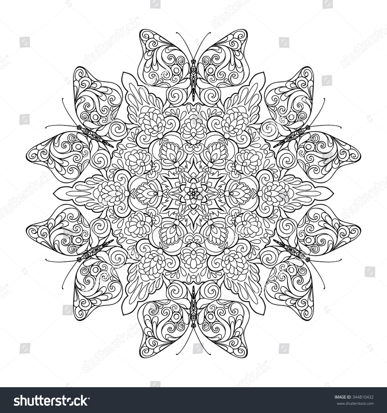 coloring book older children coloring stock vector 344810432