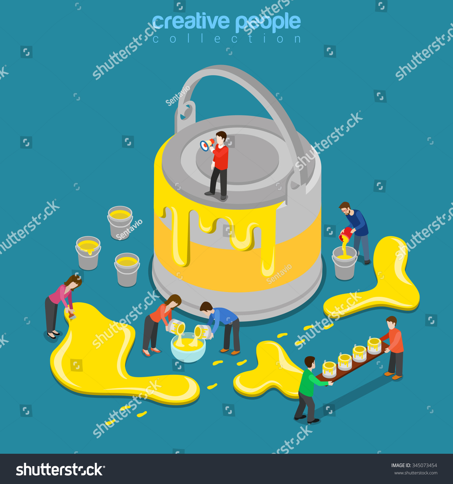 color scheme theme change concept web vector illustration preview save to a lightbox change color scheme theme