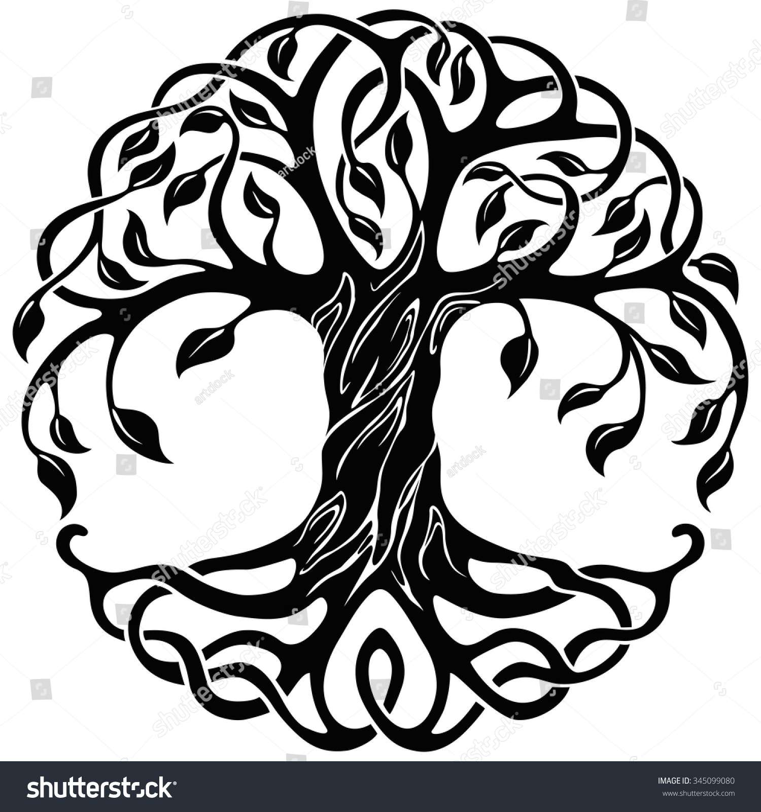 Gallery For gt Tree Of Life Outline