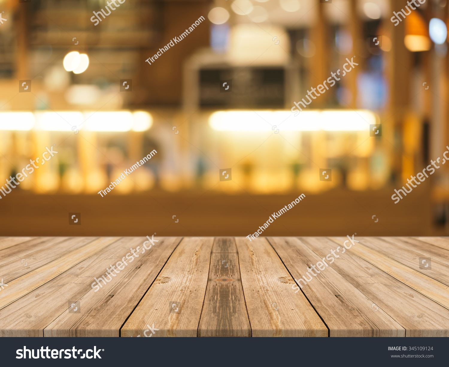 Delighful Wood Table Perspective Wooden Board Empty In Front Of Blurred Background Brown For Decorating