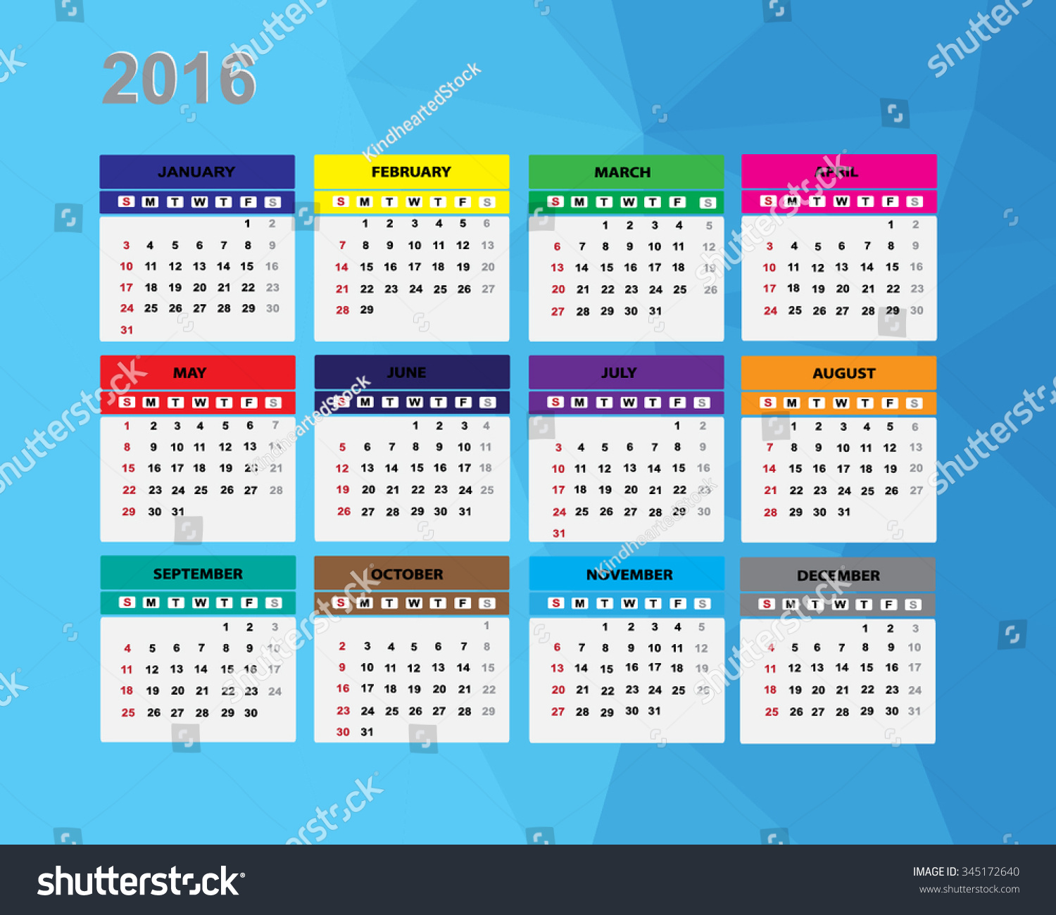 Calendar Illustration Vector : Calendar illustration stock vector