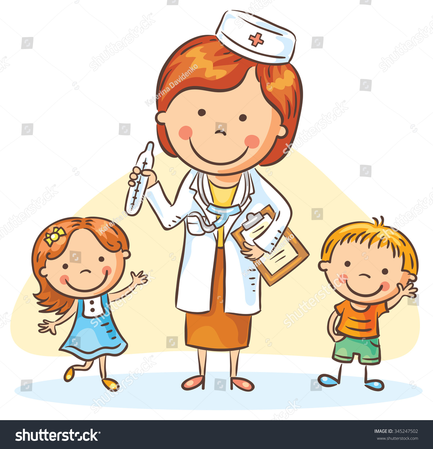 cartoon girl pediatrician wwwimgkidcom the image kid
