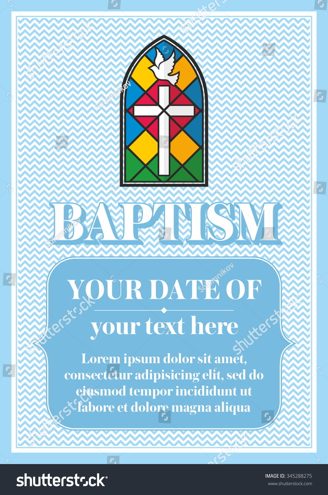 Congratulations certificate template monthly expenditure template congratulations certificate template religious flyer letter of stock vector postcard christian baptism invitation congratulation certificate 345288275 pronofoot35fo Choice Image