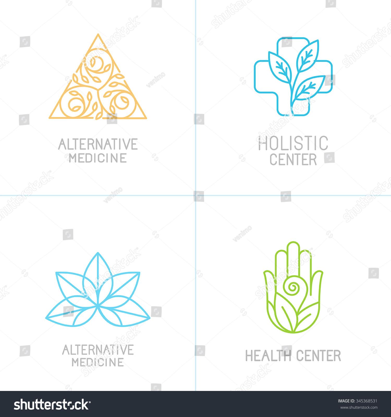 Vector Concepts Logo Design Templates Trendy Stock Vector