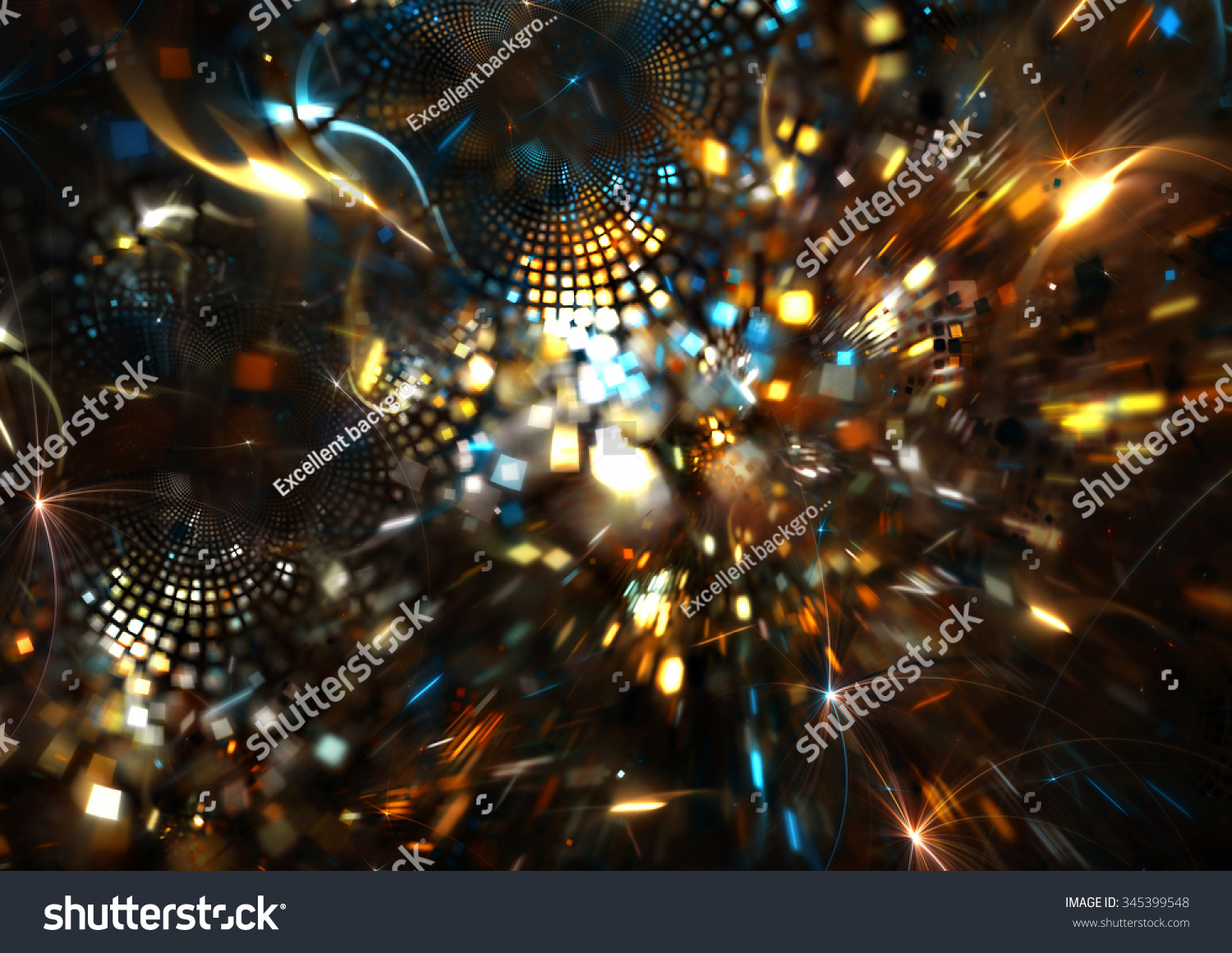 fireworks on holiday party abstract bright background save to a lightbox