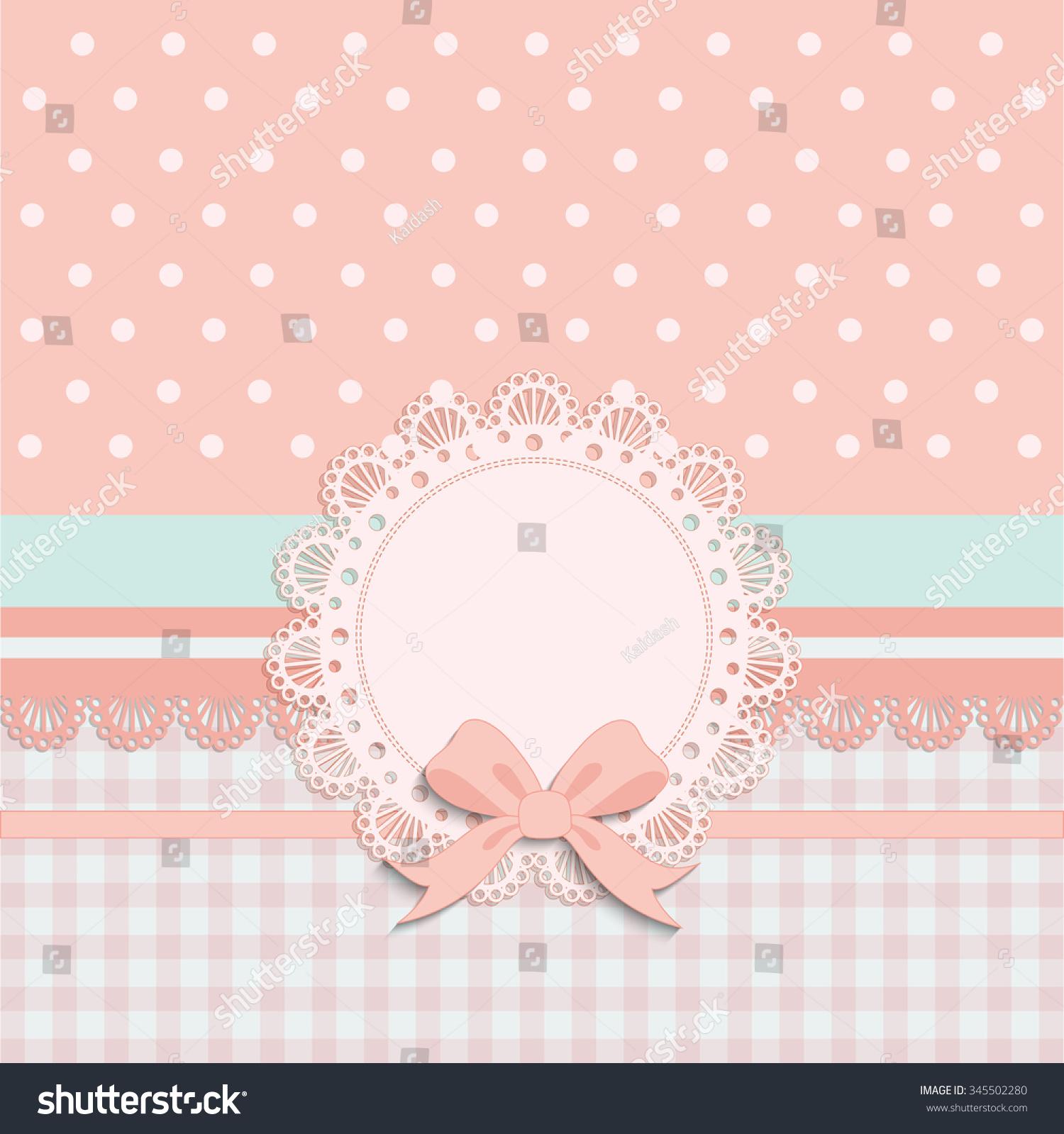 cream polka dot wallpaper