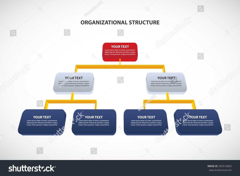 Organizational Chart Template  chartstemplatescom