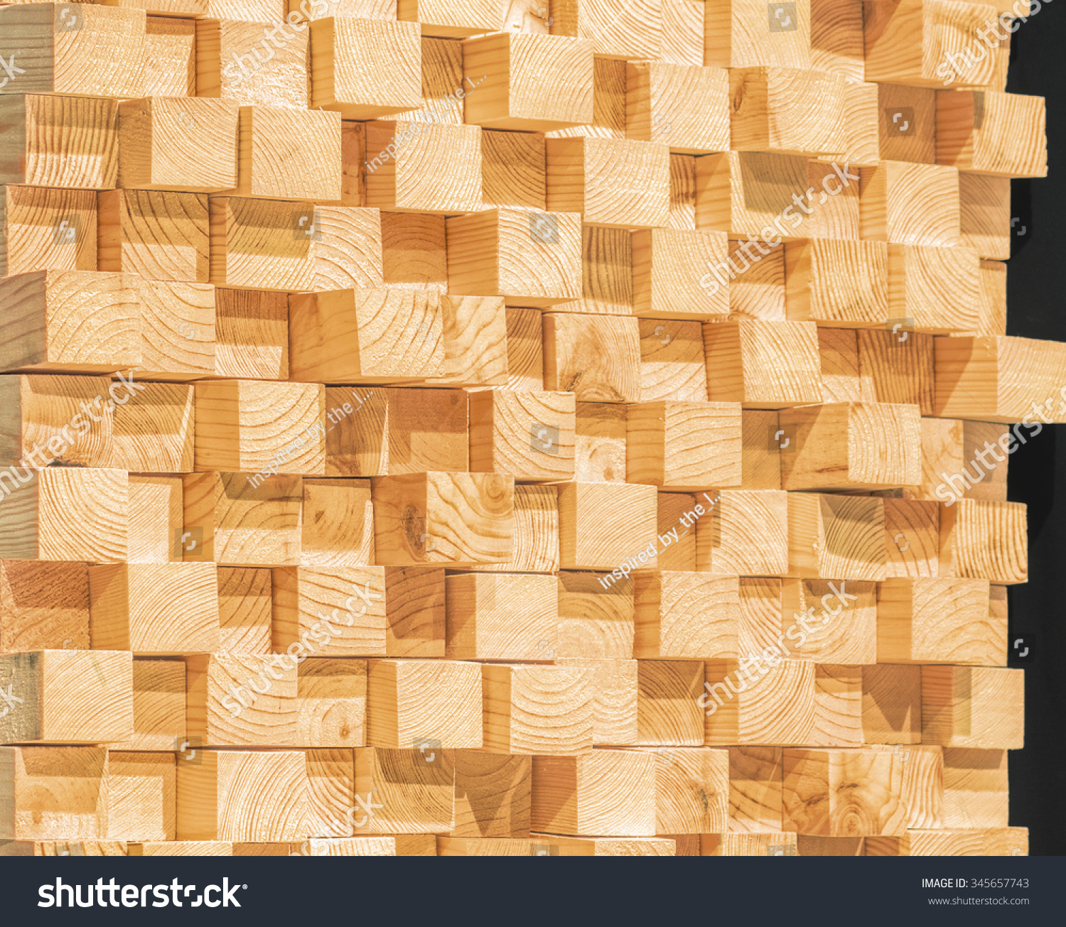 wooden soundproofing. pine timber | EZ Canvas