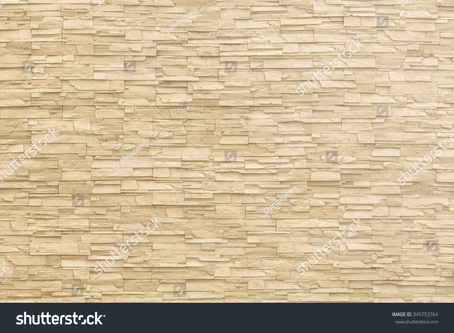 Marble Brick Stone Tile Wall Texture Stock Photo 345753764