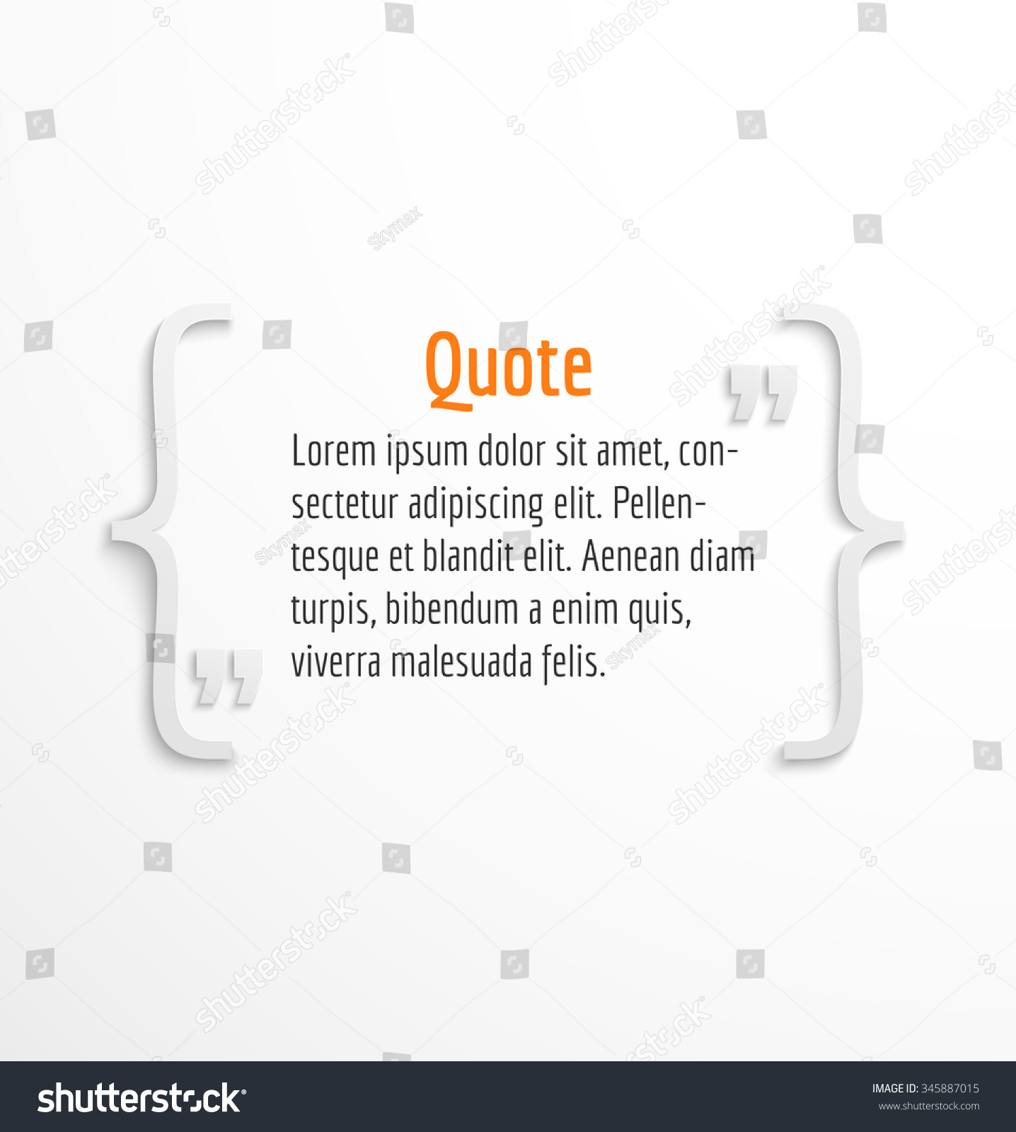 quote blank text message bubble dialog stock vector royalty free