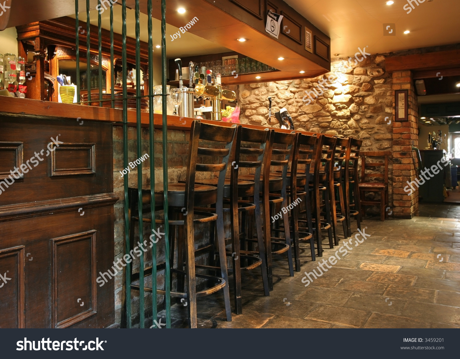 Bar Old Pub Stock Photo 3459201 Shutterstock