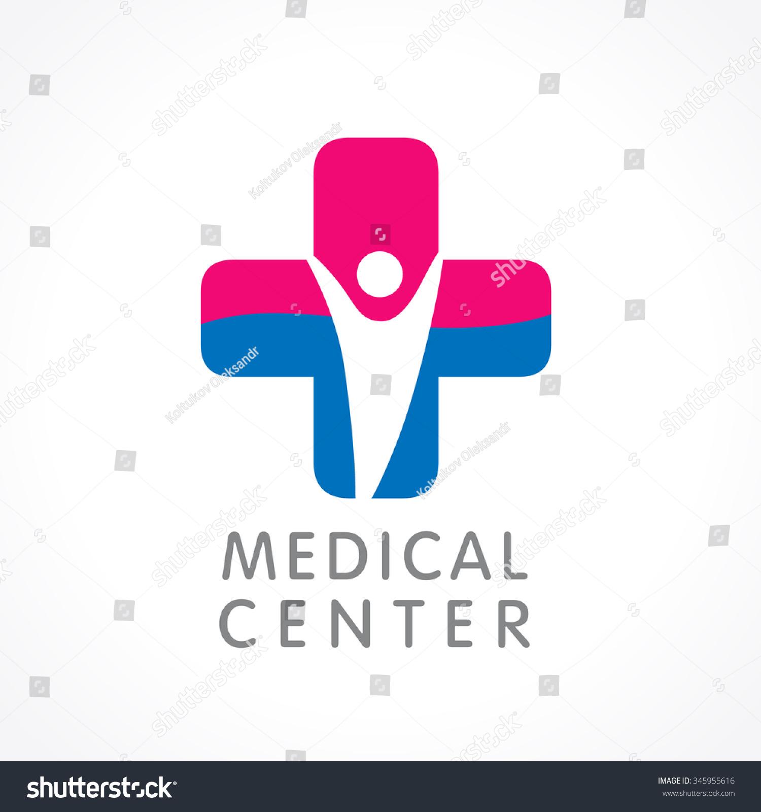 Medical Logo Icon Design Template Cross Lager-vektor 345955616 ...