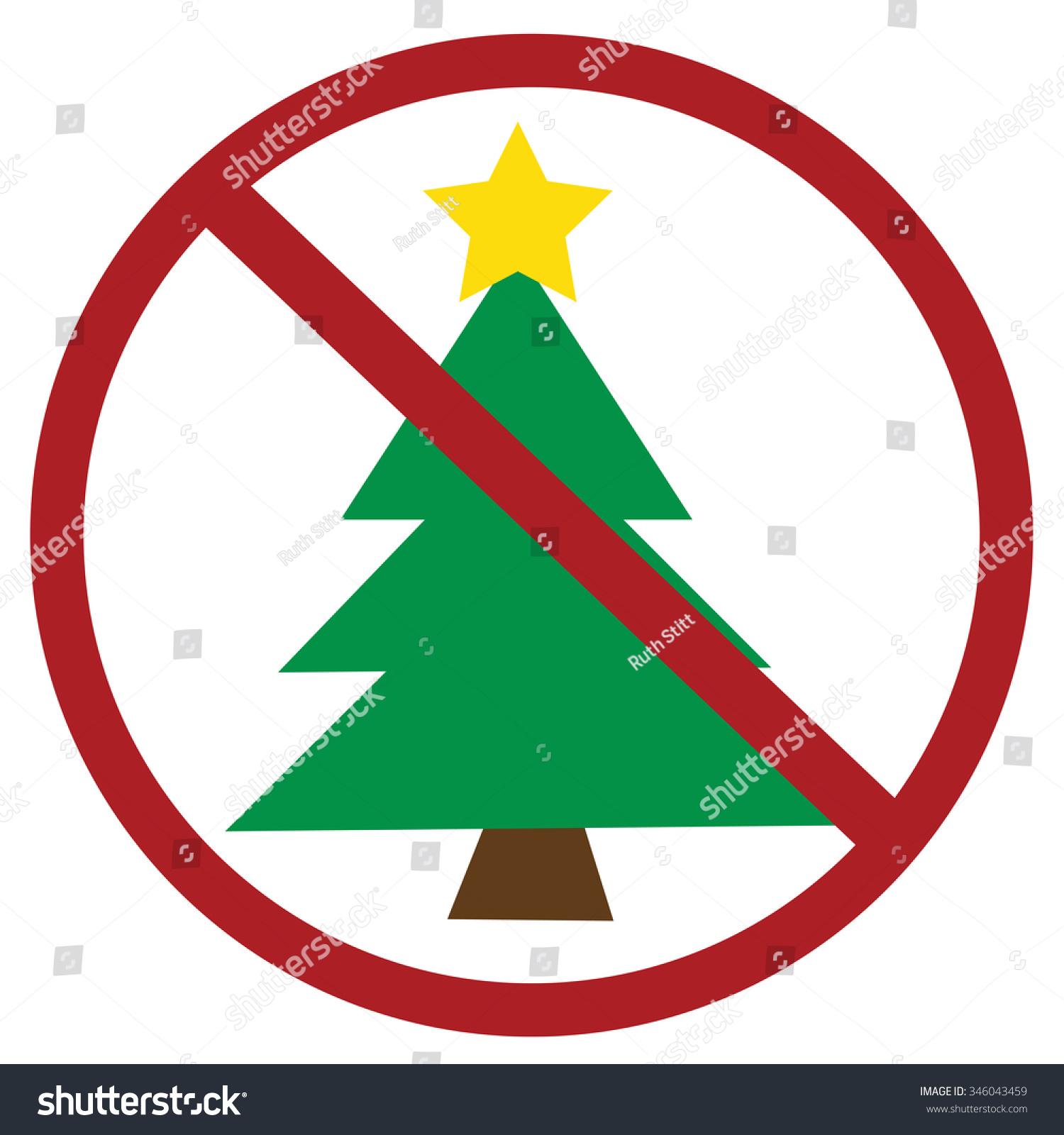 No Christmas Stock Illustration 346043459 - Shutterstock